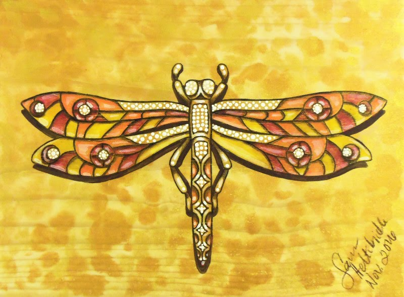 Metal Dragonfly