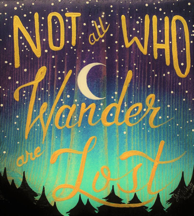 Not All Who Wander Image